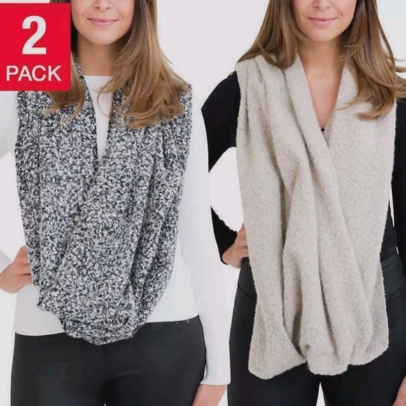 2PACK INFINITY SCARF